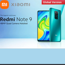 Global Version Xiaomi Redmi Note 9 4G Smartphone Snapdragon 662 Eight Core 6.53 Inch 48MP + 8MP 5020mAh Face Recognition Phone