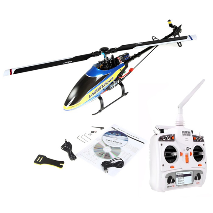 2.4G 6CH Brushless RC Helicopter 6-axis Gyro / Flybarless Structure
