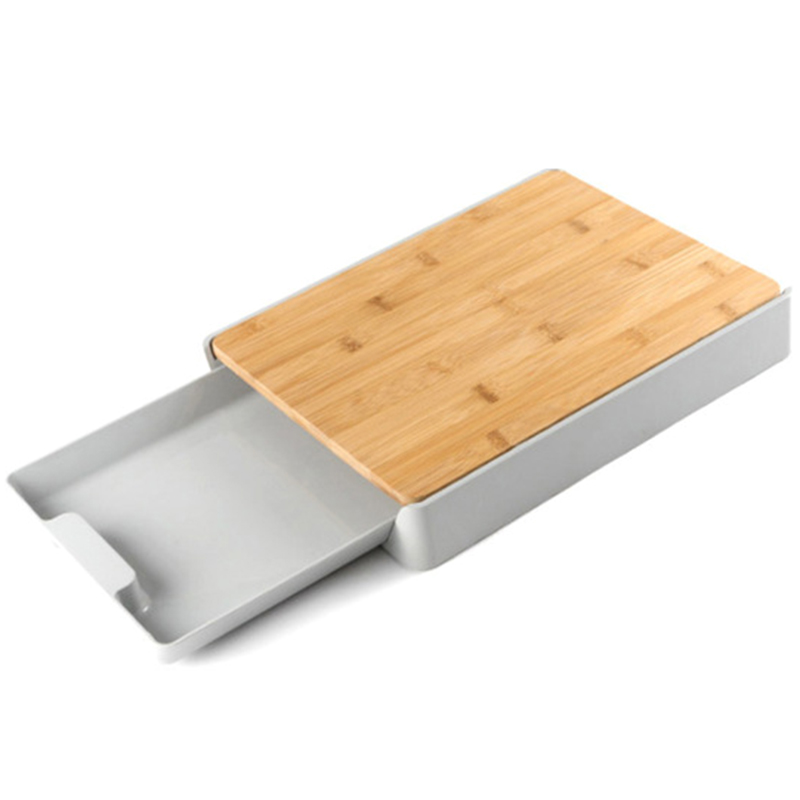 Kitchen Chopping Board Fruit Vegetable Cutting Plate Detachable Food Storage Pulling Board Drawer Type Household Cutting Board|Chopping Blocks| |  - title=