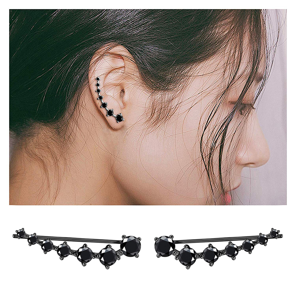 4s Women Stud Earrings Crystal Vintage Earrings for Women Jewelry