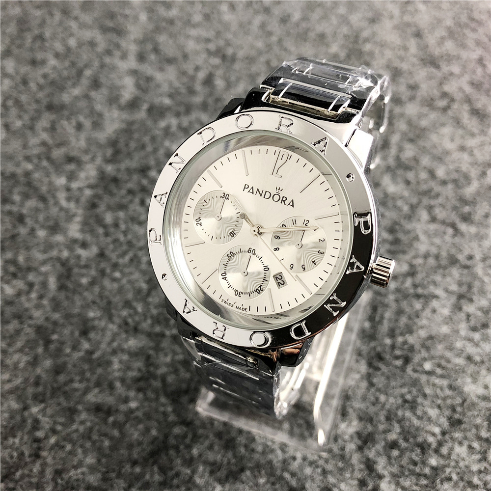 Pandoraes Watch Women Watches Bracelet Charms Silver 925 Original Luxury Ladies Watch For Women Reloj Mujer Saat Relogio