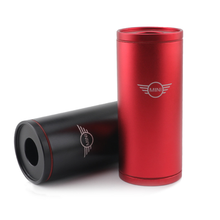 With Mini LOGO Cylindrical Tissue Box Car Cup Holder Paper Towels Tube For Mini Cooper Countryman F54 F55 F60 R55 R56 R60 R61 3 1a display dual usb car charger universal mobile phone car charger for mini cooper countryman f54 f55 f60 r55 r56 r60 r61