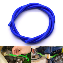1m Motorcycle Bike Fuel Gas Oil Delivery Tube Hose Petrol Pi
