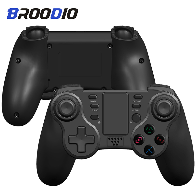 2020 New Bluetooth Wireless Joystick For PS4 Controller Fit For mando ps4 Console For Playstation Dualshock 4 Gamepad For PS3 PC(China)