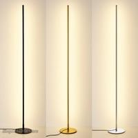 Nordic minimalista lâmpadas de assoalho led criativo suporte lâmpadas para sala estar led preto metal luminaria lâmpada pé lampara luminárias|Luminárias de pé| |  -
