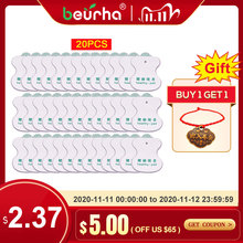 20pcs/lot Healthy Pad Electrodos Electrode Massage Pads for Digital Tens Acupuncture Device Body Massager Therapy Machine