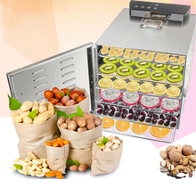 Air-Dryer Dehydration Snacks Meat-Drying-Machine Vegetable-Herb Dried Fruit Stainless-Steel