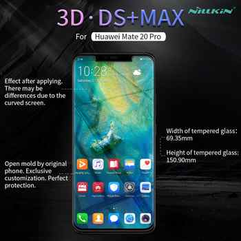 For Huawei Mate 20 Pro Tempered Glass Nillkin Ds Max Full Cover Screen Protector For Huawei Mate 20 Pro 3D Glass