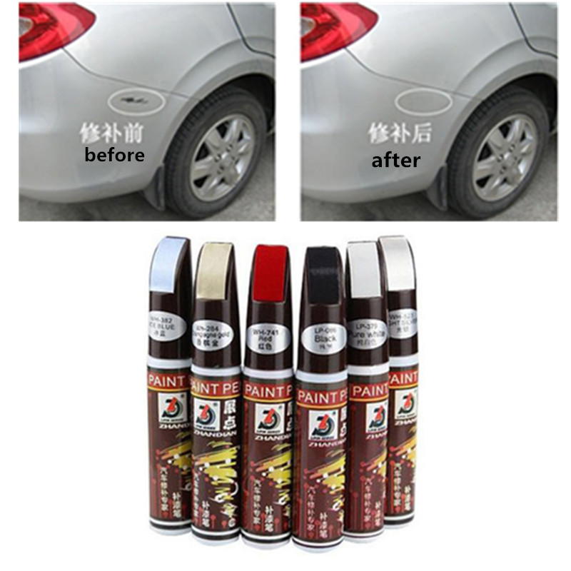New Car Auto Coat Scratch Clear Repair Paint Pen Touch Up Waterproof Scratch Remover Applicator Car Paint Care Tools Accessories