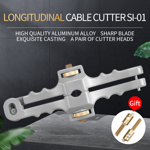 Image 2 - Podłużny nóż do otwierania podłużny kabel z osłonką Slitter fibre kabel optyczny Stripper SI 01