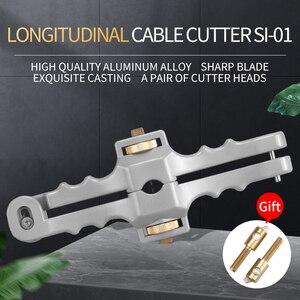 Image 2 - 縦開口ナイフ縦シースケーブルスリッター繊維光学ケーブルストリッパーSI 01
