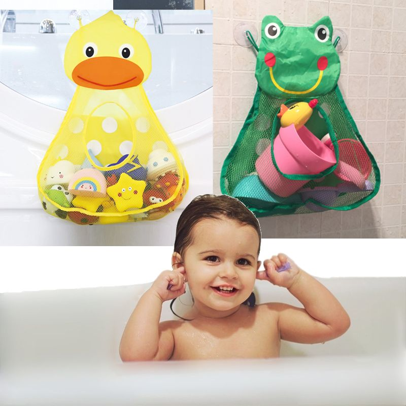 Baby Bath Animal Toy Mesh Net Storage Bag Organizer Holder For Home Bathroom