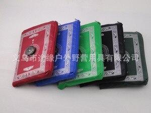 Image 2 - 100X60 Cm 5 Màu Dễ Dàng Mang Theo Mubarak Hồi Giáo Ramadan Cầu Nguyện Thảm Thảm Hồi Giáo Cho Bỏ Túi Gấp Chăn Với cho La Bàn