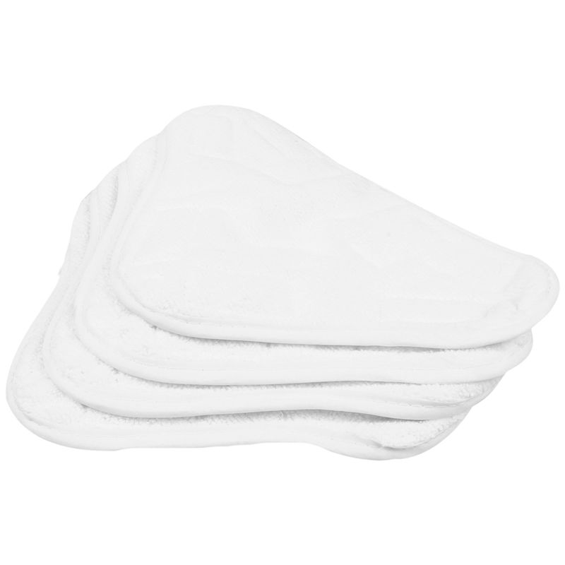 New-New 4pcs Replacement Pads For H2O H20 X5 Steam Mop Cleaner Floor Washable Microfibre Pads(China)
