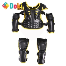 Doki Toy For Height Boys Girls Youth Child Kids Body Protection Motocross Armor Vest Suits Skiing Skating Elbow Knee Care Armor
