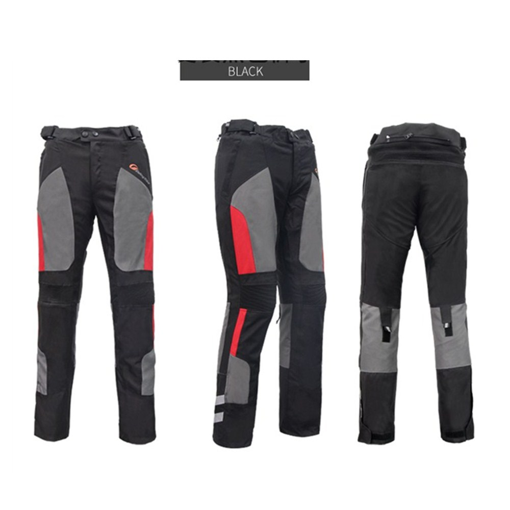 Waterproof Pants Jacket for Motorcycle Riding Trousers Raincoat Rainwear Suit Moto Protective Safety Protective Clothing HP-12 1