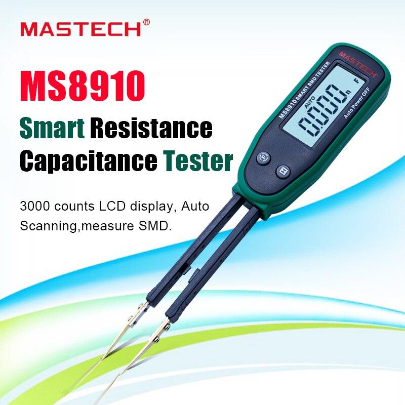 Multimeter MASTECH MS8910 SMD Auto identifizieren Widerstand tester kapazität meter diode tesing smart scan-in Multimeter aus Werkzeug bei title=