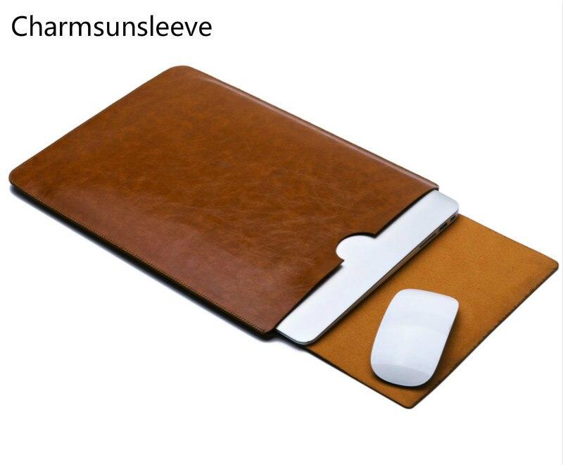 """Bilgisayar ve Ofis'ten Dizüstü Bilgisayar Çanta ve Kılıfları'de Charmsunsleeve Microsoft Surface Laptop için 2 13.5 """"dizüstü Ultra ince kılıfı  mikrofiber deri kol çantası title="""