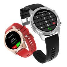 F50 블루투스 전화 스마트 워치 남자 사용자 정의 다이얼 전체 터치 스크린 Smartwatch 안 드 로이드 IOS 여자 스포츠 휘트니스 시계