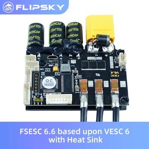 Image 1 - Skate Eletrico Fsesc 6.6 Gebaseerd Op VESC6 Met Koellichaam Electronic Speed Controller Voor Surfen/Skiën Flipsky