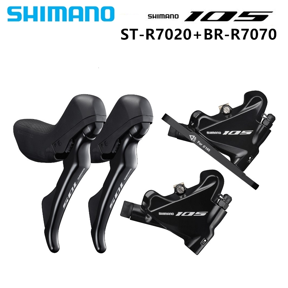 Shimano 105 ST-R7020 BR-R7070 Hydraulic Road Disc Shifter Brake set//Right//Left