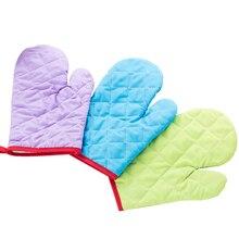 Glove Mitten Kitchen-Tool Microwave Oven Heat-Resistant-Gloves Baking Insulated Cotton