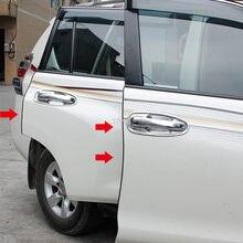 Porta fita anti-colisão tronco tira de vedação para toyota land cruiser 200 prado 120 150 2003-2009 2010-2016 2017 2018 2019 2020