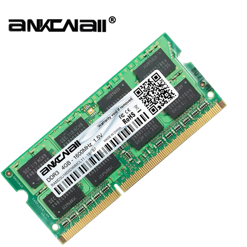New DDR3L 4GB /8G Laptop RAM Memory For Intel System High Compatible 8