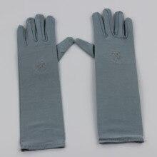 1 paar Moslim Oversleeves Abaya Hijab Islam Islamitische Mouwen Arm Cover Handschoenen ongeveer 32cm voor Vrouwen Meisjes Groothandel