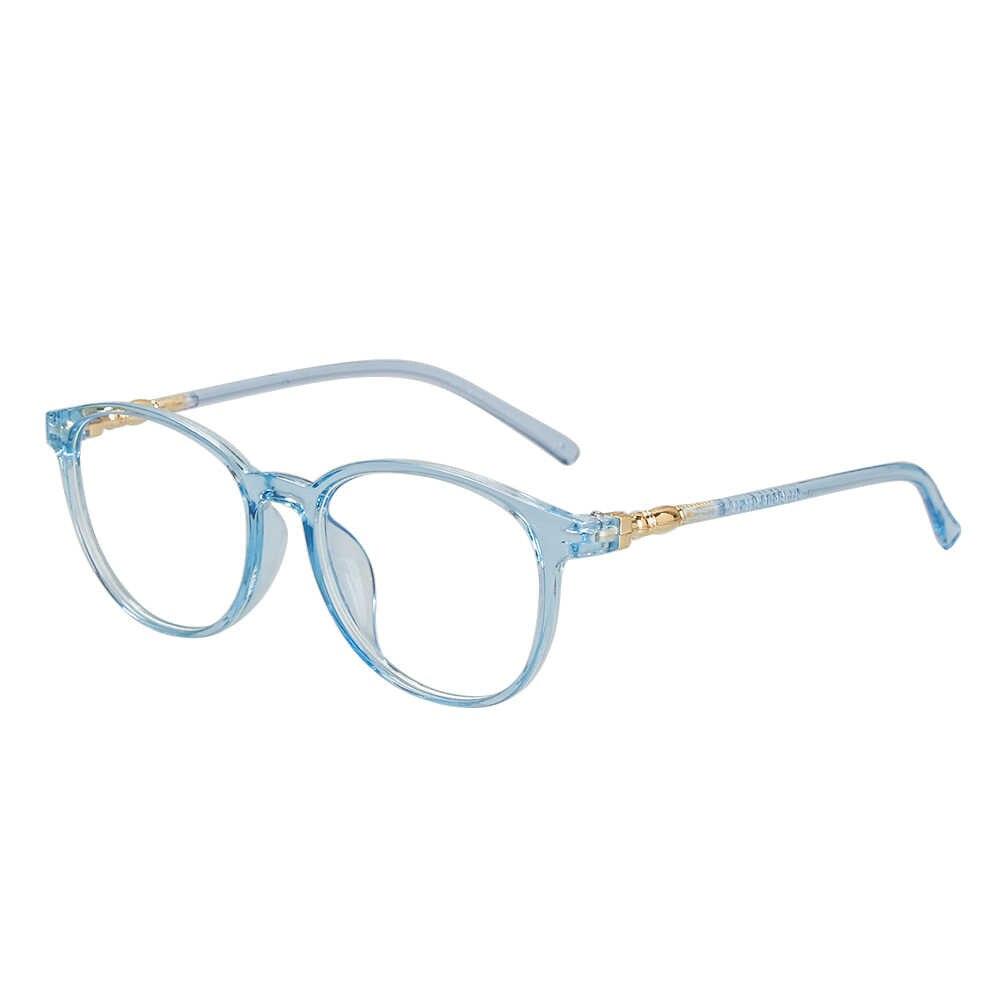 موضة مكافحة الأشعة الزرقاء نظارات الكمبيوتر واضح عدسات مسطحة قصر النظر وصفة طبية إطار واضح عدسة عادي زجاج نظارات العين نظارات