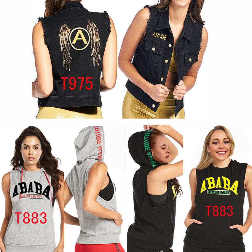 M Cowgirl Vest Hooded Vest Sleeveless T-shirt T 883 975