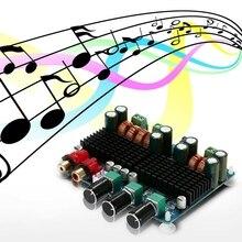Carte damplificateur de puissance sonore RISE Quality amplificateur Audio de puissance de Subwoofer numérique 2.1 canaux pour Dc12V 26V domestique 50W x 2 + 100W Tpa