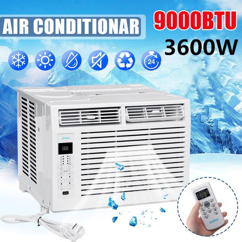 3600W Air Conditioner B97059 220V Household Heater Window Air Conditioner Cooling Heating Cold/Heat Dual Use Dehumidifier