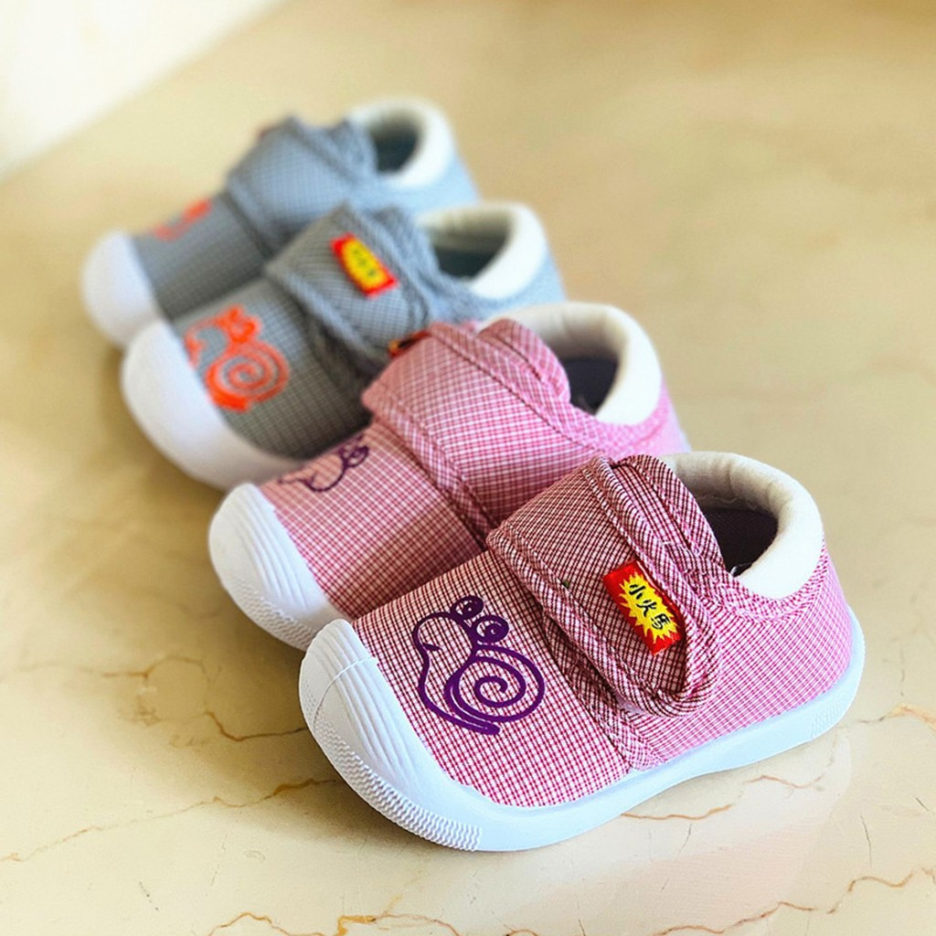 Baby Shoes Sneakers Snail Squeaky Soft-Sole Toddlerchildren Cartoon Cute Chaussure Zapatos