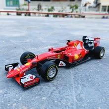 1:24 F1 2015 Ferrari SF15-T formule un Simulation alliage voiture modèle artisanat décoration Collection jouet outils