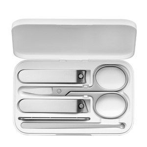 Image 5 - 5 個 xiaomi mijia ステンレス鋼ネイルクリッパーセットトリマーペディキュアケアバリカン耳かき爪やすりプロの美容ツール