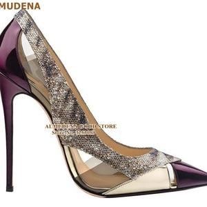 ALMUDENA Purple Patent Leather