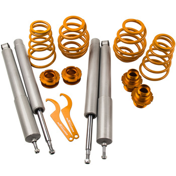 51mm Front Inserts COILOVER SUSPENSION FOR BMW E30 3 SERIES CONVERTIBLE 86-93 for 320i 325i 324D 324TD 323i image