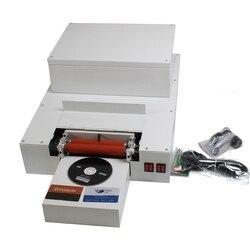 Wielofunkcyjna drukarka atramentowa do kart identyfikacyjnych CD DVD maszyna do powlekania dysków UV maszyna do laminowania na identyfikatory CD DVD
