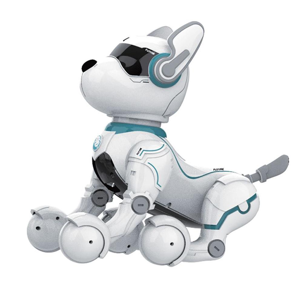 Remote Control Smart Stunt Robot Dog Intelligent Programming Science Early Education Toy Dancing Robot Dog Mini Pet Robot Dog