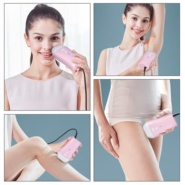 Professional Permanent IPL Laser Depilator 990000 flash LCD laser hair removal Photoepilator women painless hair remover machine