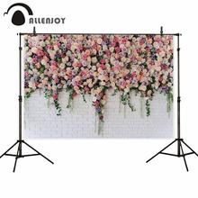 Allenjoy wedding photocall rose flower brick wall birthday baby party backdrop photophone photo background studio photography allenjoy photophone background photography studio fantasy halloween magic window fire basin fairy tale backdrop palace photocall