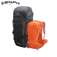 Zenph Outdoor Mountaineering Backpack Camping Bag 38 50L Professional Waterproof Backpack Camping Hiking Cycling Backpack