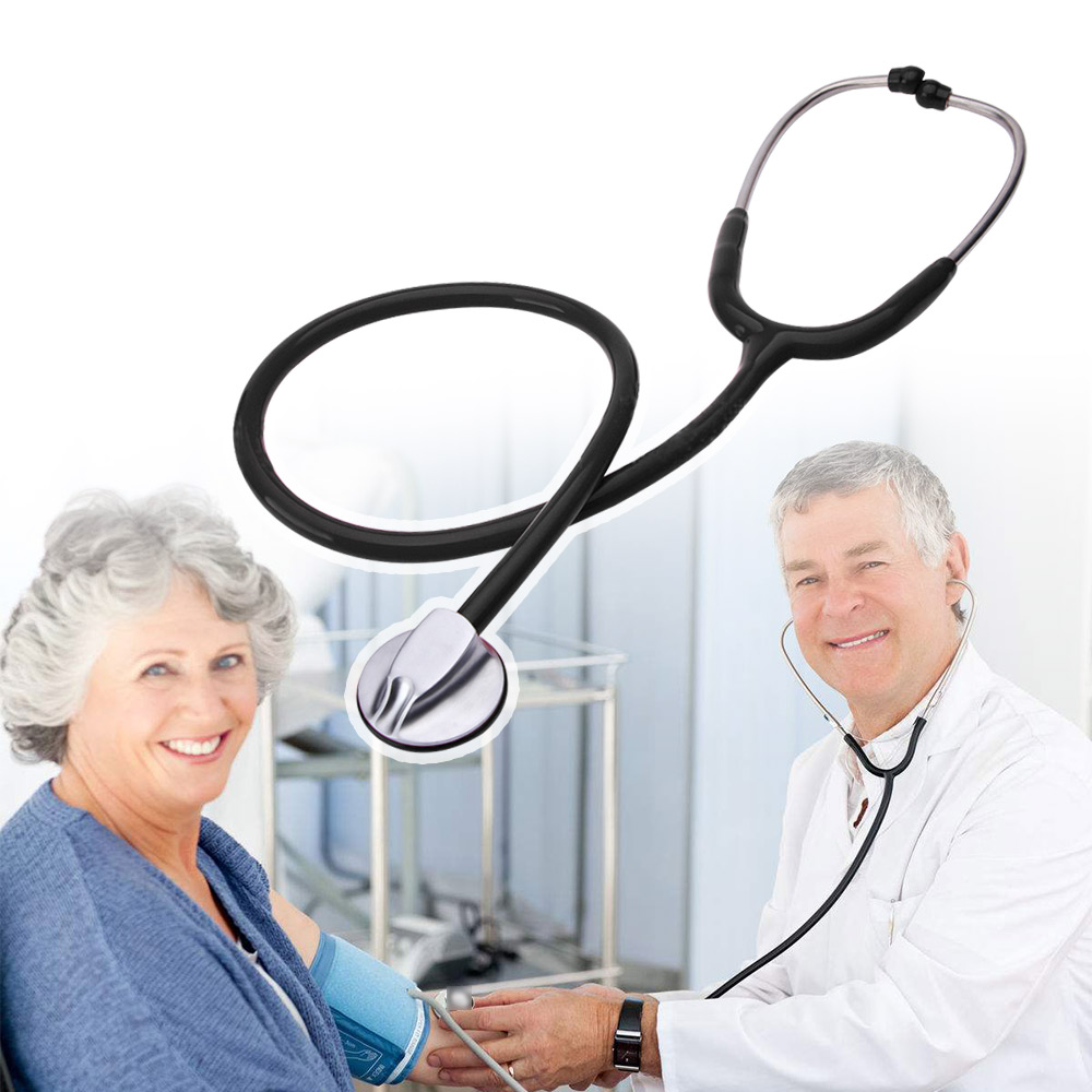 Medical Cardiology Doctor Stethoscope Professional Medical Heart Stethoscope Nurse Student Medical Equipment Device 1