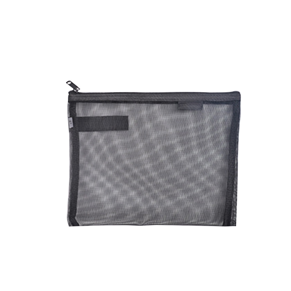 Document Bag Nylon A4 A5 Stationery Pen Filing Products Paper Folder Office School Solid Transparent Gridding Portable