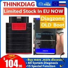 Vecchio avvio Thinkdiag funziona per Diagzone sistema completo OBD2 strumento diagnostico 15 servizi di ripristino PK lancio Easydiag strumenti obd2