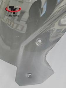 Image 3 - Smoke Black Motorcycle Accessories For KTM 1190 1090 ADVENTUER Windshield Heightening Wind Deflectore raise Windscreen Spoiler