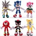 Игрушки Соник 18-30 см, мягкие плюшевые куклы Эми, розы, куклы-кастеты, подарок для детей