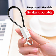 USB Cables For iPhone/Type C/Micro USB For Samsung S9 S8 USB C Multi-Function Key Chain Portable Charging Sync Data Cord Charger pofan p15 portable micro usb to type c adapter charging sync data converter black