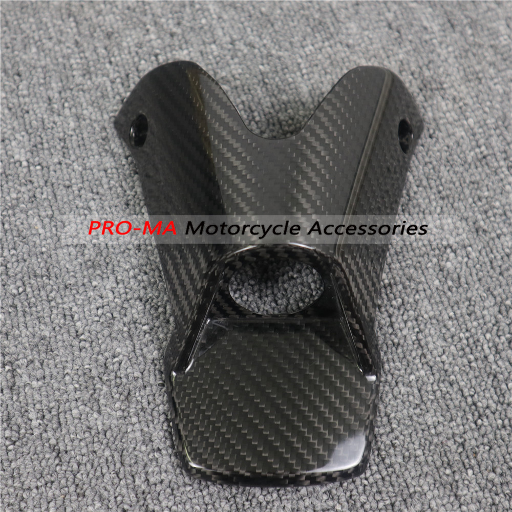 Motorcycle Key Cover In Carbon Fiber For KTM Duke 790 2018-2019 Twill Glossy Weave